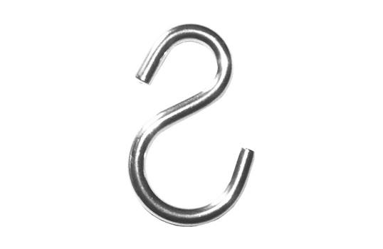 Crochet S de suspension asymétrique