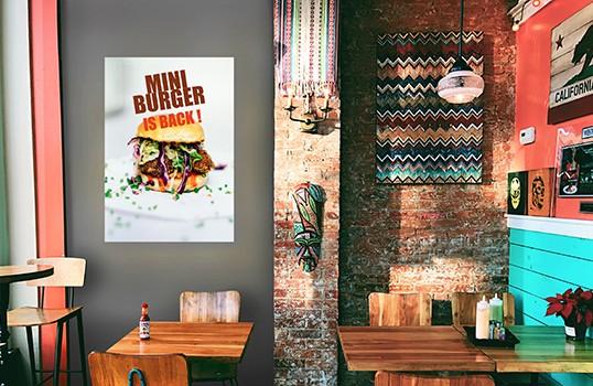 cadre lumineux fin 70x100 visuel imprim tissu diffusant signstore. Black Bedroom Furniture Sets. Home Design Ideas
