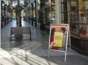 Affichage extérieur magasin portatif