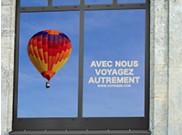 Habillage adhésif pour vitres sur mesure
